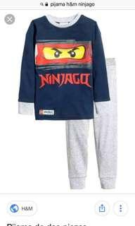 Piyama ninja go H&M