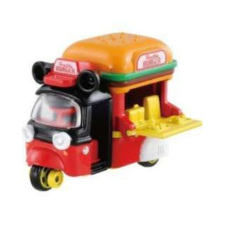 「日本帶回」正版 多美 合金 小汽車 米奇 漢堡 餐車 TOMICA