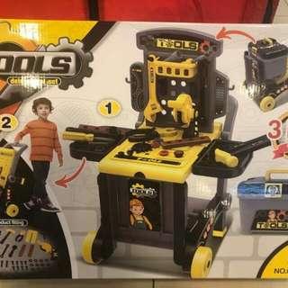 De Luxe tool set for boys