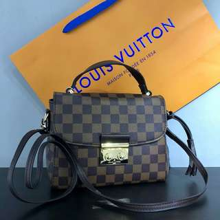 Louis Vuitton Croisette Bag Damier