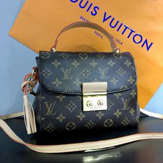 Louis Vuitton Croisette Bag Monogram