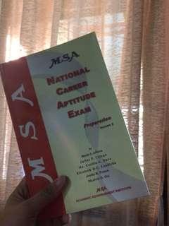 MSA National Career Aptitude Exam Vol. 2