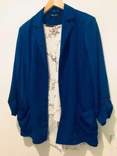 Royal Blue Blazer 14