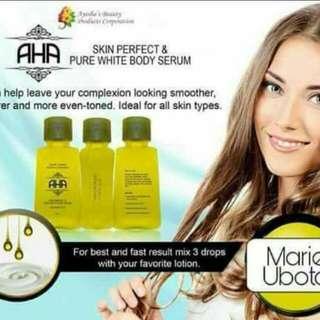 🍃AHA Skin Perfect and Pure White Body Serum