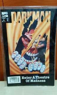 Vintage Marvel 1993 vol. 2 issue #1DarkMan Enter A Theatre of Madness.