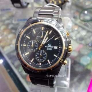 Montres Company香港註冊公司(25年老店) CASIO edifice EFR-526 EFR-526BK EFR-526BK-1 EFR-526BK-1A9 三隻色都有現貨 EFR526 EFR526BK EFR526BK1 EFR526BK1A9