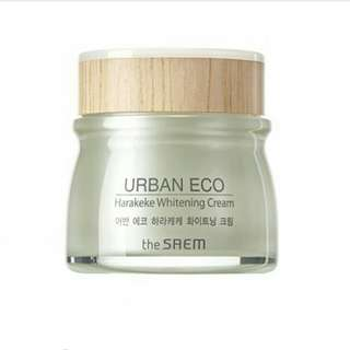 The Saem Urban Eco Harakeke Whitening Cream (60ml)