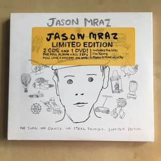 Jason Mraz We sing. We dance. We steal things. Limited edition