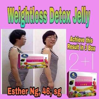 Slimming pudding jelly