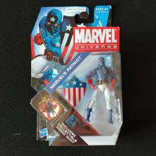 Marvel Universe 3.75 Marvel Patriot