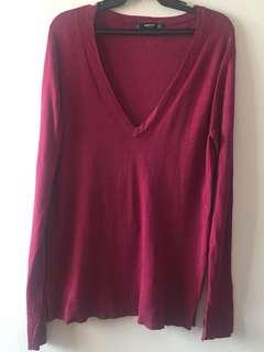 Mango Pink Light Sweater