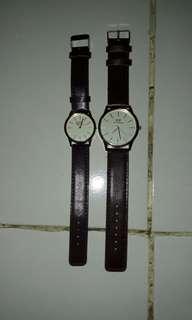 Jam tangan couple DW