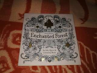 Echanted Forest Colouring book