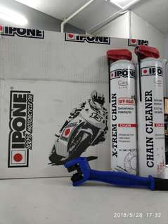 IPONE Off-Road Chain Care Package 750ml