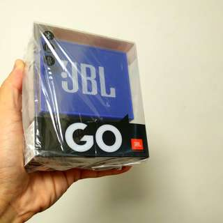 JBL Go bluetooth speaker   brand new in sealed box