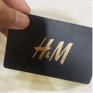 H&M Gift Card Worth RM100