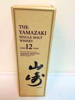 日本Yamazaki 山崎純麥威士忌 Whisky 700ml