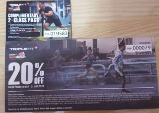 Triple Fit Discount Vouchers