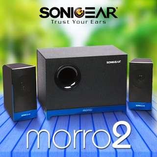 SonicGear Morro 2.1 Speaker System