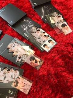 BTS Love Yourself: Tear Photocards (SUGA, JIN, JHOPE)