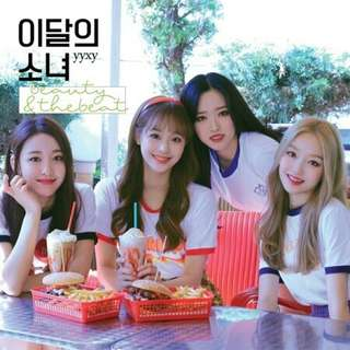 LOONA yyxy BEAUTY&THEBEAT Pre-Order