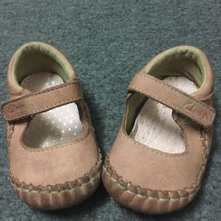 Clarks First Shoes size 6-9m