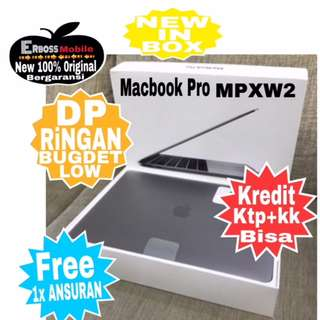 "Macbook Pro MPXW2-13""TouchBar i5/8/512GB Cash/Kredit Ktp+kk Wa;081905288895"