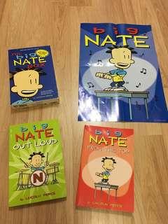 Big Nate 2 Books box set + poster