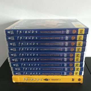 Friends Seasons 1-10