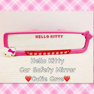 *NEW IN IN SG* Hello Kitty Car Safety Mirror
