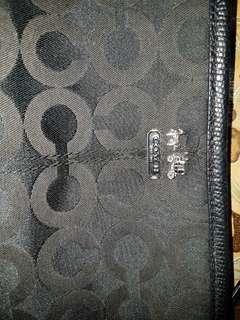 Coach mini wallet bag