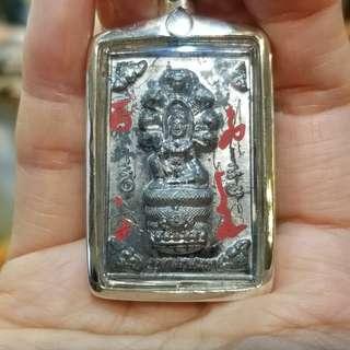 泰國佛牌 2549 阿贊初 澤度金 娜朗 鉛版