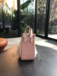 Loewe hammock blush small handbag