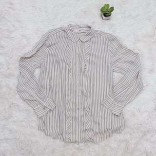 B&W striped long sleeves
