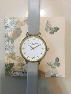 Olivia Burton watch midi dial grey