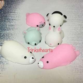 mochi squishy rubber toy cute