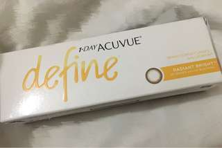 1 Day Acuvue Define 閃鑽啡 - 250度