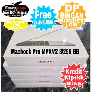 "Macbook Pro MPXV2 13"",TouchBar i5,8/256GB Kredit Dp 8jt ditoko wa;081905288895"