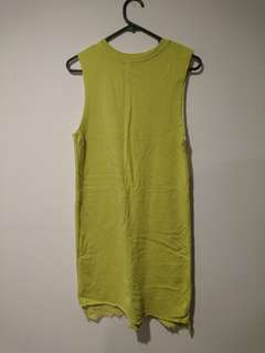 Asos Lime green midi dress