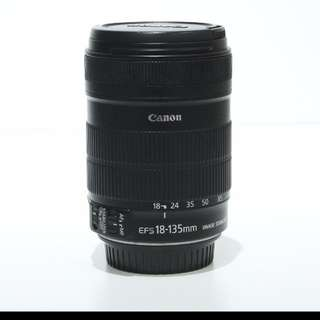 Lens Canon EF-S 18-135mm f/3.5-5.6
