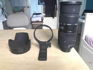 SIGMA 50-500mm F4-6.3 DG EX APO HSM NIKON