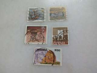 African Stamps Used