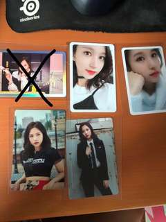 Twice photocards mina clearance