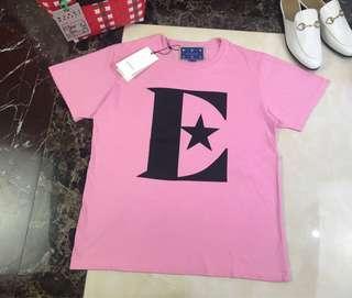 Gucci X elton john藝術家合作限定款粉色星星T