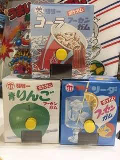 日本吹波膠口香糖