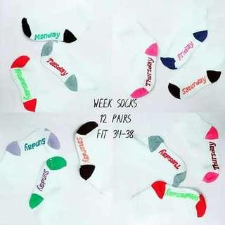 Week Socks