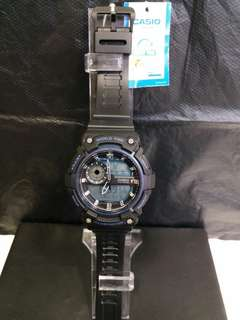 """AEQ-200W-2A卡西歐品牌手錶""""Casio""""日本機芯一年保養"""