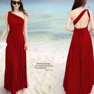 INFINITY DRESS Fits S To L  Price : 450