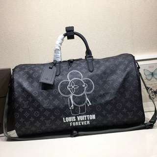 Louis Vuitton Forever Keepall Duffle Bag