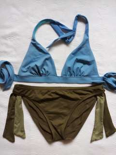 Two-Piece L-XL Swimsuit